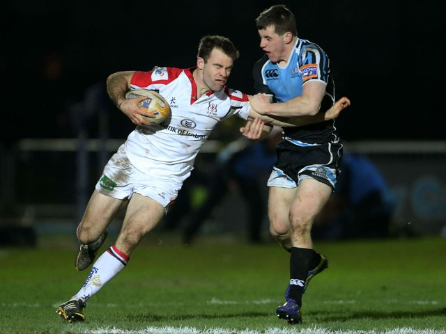 Michael Allen: Two tries for Ulster