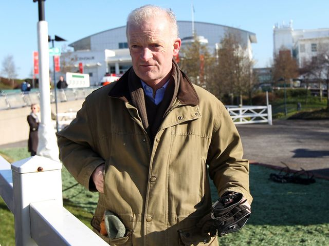 Willie Mullins: Won a fifth Thyestes with On His Own