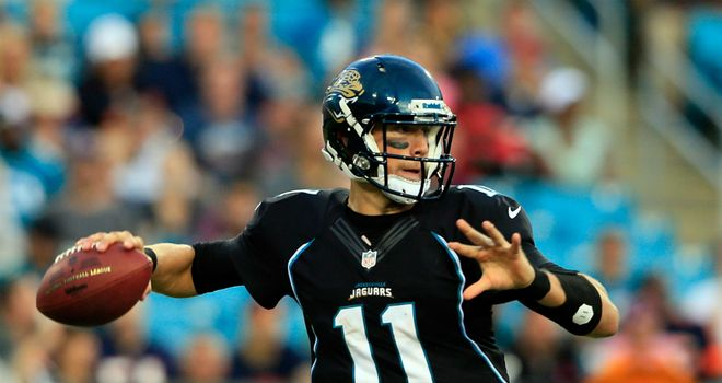 Blaine Gabbert: Holds off Chad Henne for starting role with Jaguars