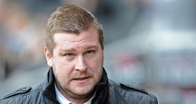 Karl Robinson: In a threatening mood