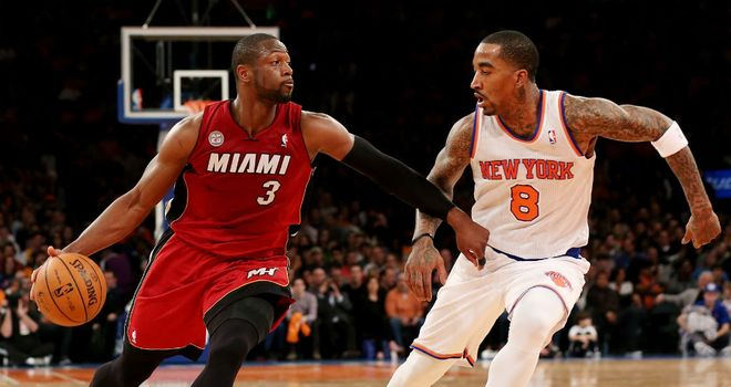 Dwyane Wade: Scored 32 points for the Miami Heat