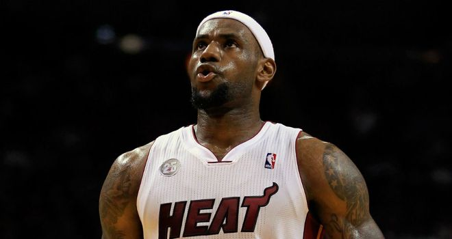 LeBron James: Scored 27 points for the Miami Heat