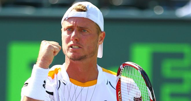 Lleyton Hewitt: Finally overcame Joao Sousa in Miami
