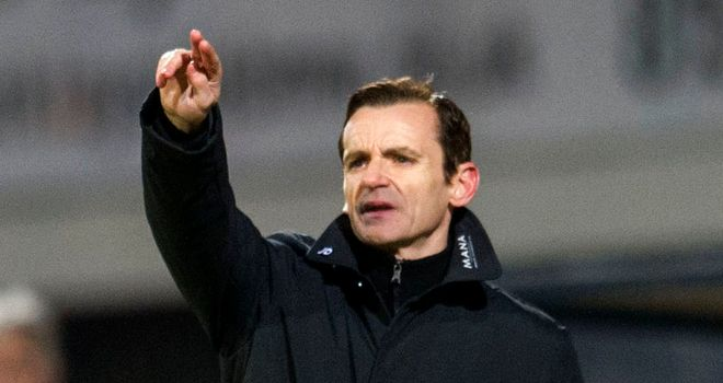 Danny Lennon: Says the draw with Dundee United was evenly contested