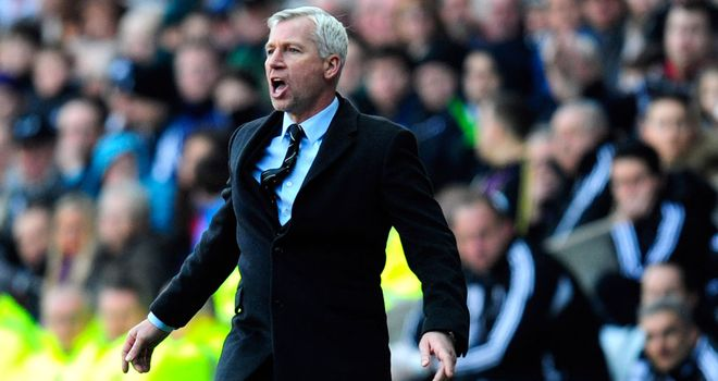 Alan Pardew: Will be without six first-team regulars on Thursday