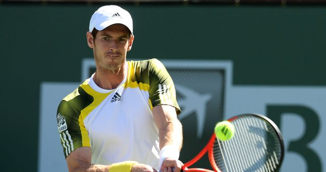 Andy Murray: Rusty start to first match in six weeks