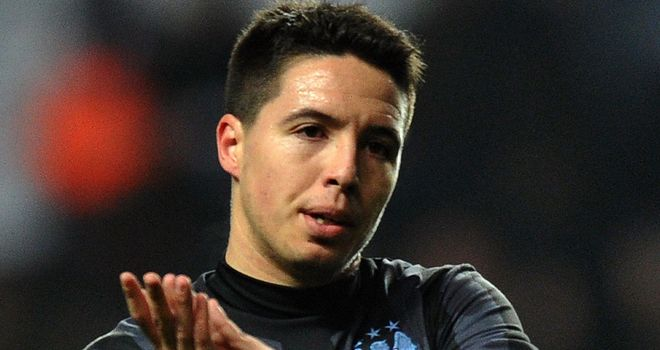 Samir Nasri: Has struggled this term