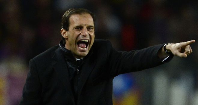 Massimiliano Allegri: His side can guarantee CL football against Siena