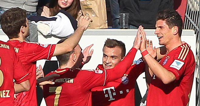 Bayern Munich: Take on Bayer Leverkusen this weekend