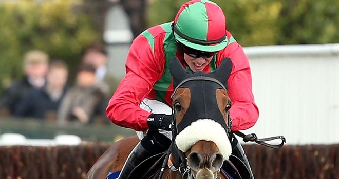 Benefficient: Flew Beneficial's flag at Cheltenham