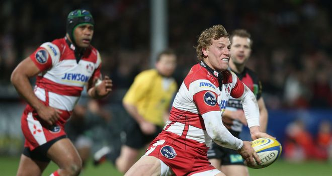 Billy Twelvetrees (right): Is one of 24 Gloucester players out of contract at the end of the 2013-14 season.