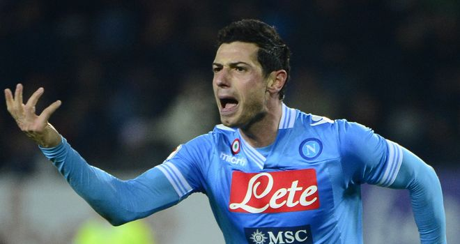 Blerim Dzemaili: Hat-trick hero for Napoli