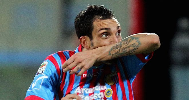 Francesco Lodi wrapped up Catania's victory