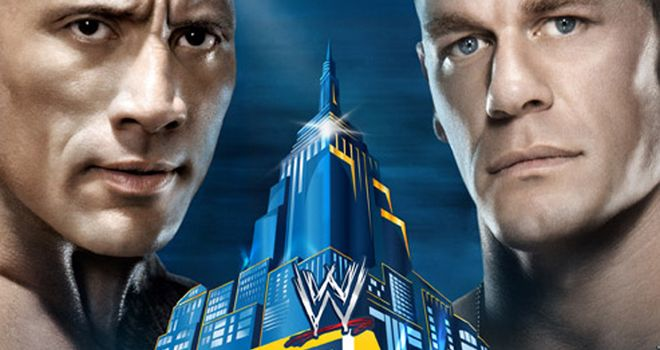 John Cena (R) and The Rock: Will go head-to-head at WrestleMania 29