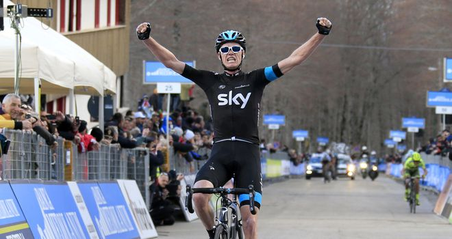 Chris Froome: Stunning ride to take win in Italy