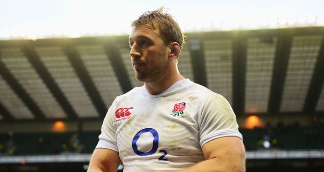Chris Robshaw: England captain misses out on British and Irish Lions tour of Australia this summer