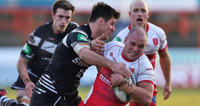 Cory Paterson: eager for Hull KR to build on their momentum against Bradford