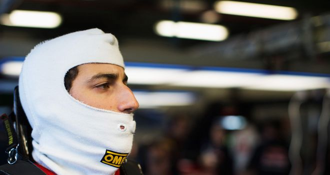 Daniel Ricciardo: qualified an impressive seventh in China