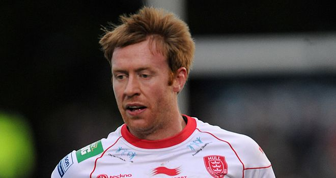Dave Hodgson: Scored one of Hull KR's four tries