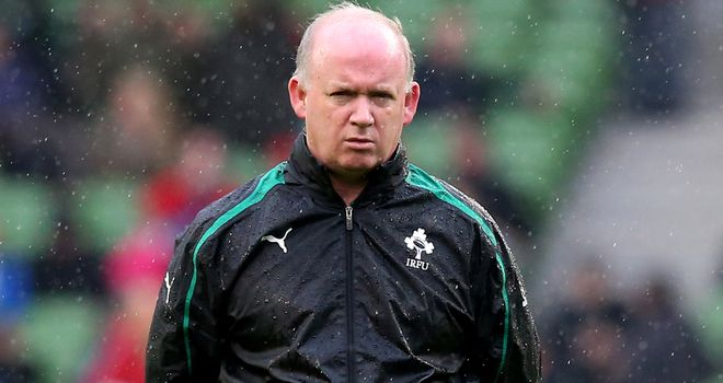 Declan Kidney: Under increasing pressure following back-to-back Six Nations defeats