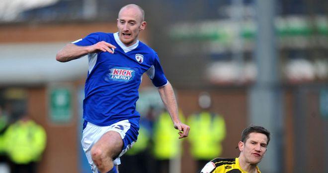 Drew Talbot: Match-winning strike