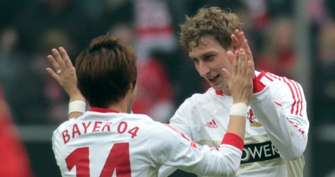 Stefan Kiessling: Netted twice in Leverkusen win