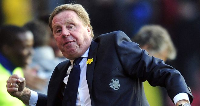 Harry Redknapp: QPR boss delighted with a much-needed win