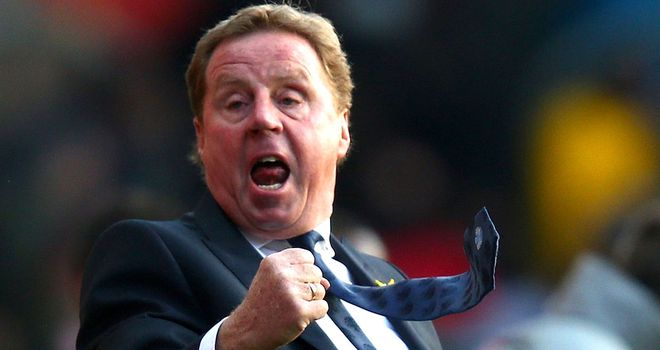 Harry Redknapp: Has guided QPR to back-to-back Premier League victories for the first time since 1995