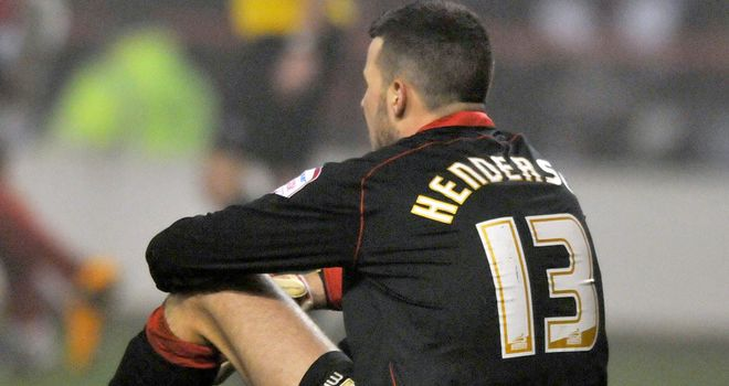 Stephen Henderson: Kept a clean sheet at London Road