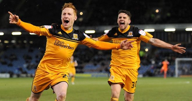 Stephen Quinn: Hull&#39;s goalscorer celebrates his winner
