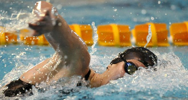 Jazz Carlin: Claimed victory in the 400m freestyle on the final day of competition