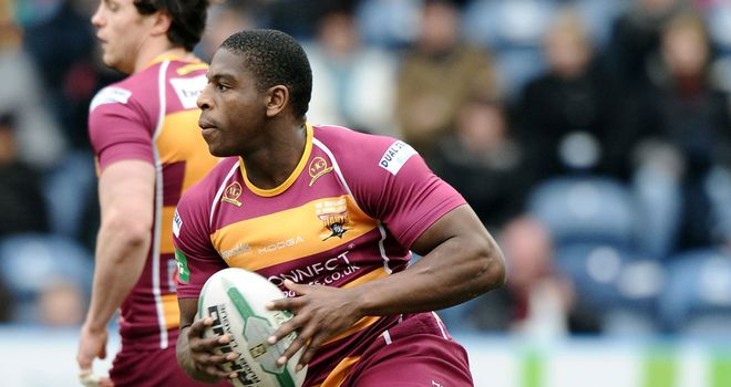 Jermaine McGillvary: Notched early brace of tries to set Giants on their way