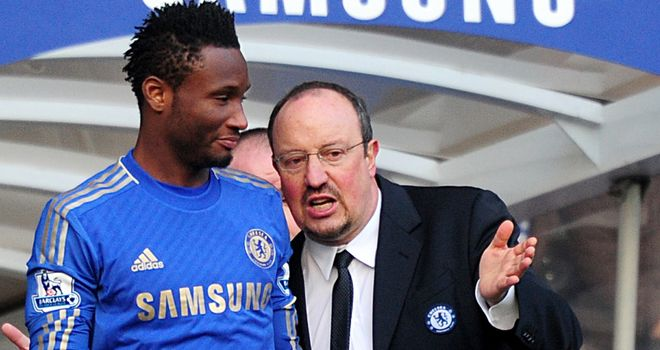 John Obi Mikel: Wants Chelsea fans to get behind interim boss Rafa Benitez