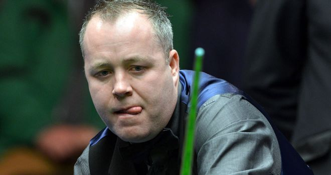 John Higgins: lost after leading 3-1 and 4-3