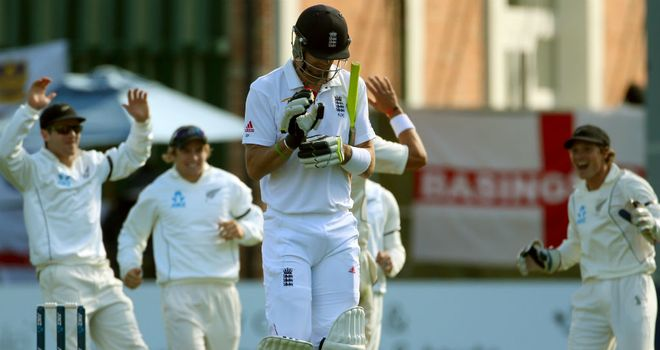 "Kevin Pietersen: got ""a very good ball"" first up, says Athers"