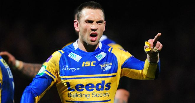 Kevin Sinfield: knows Leeds' display against Huddersfield was not up to scratch