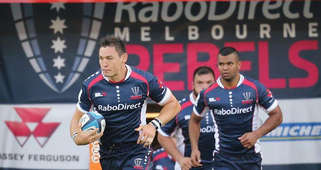 Gareth Delve, left, will leave the Melbourne Rebels this summer