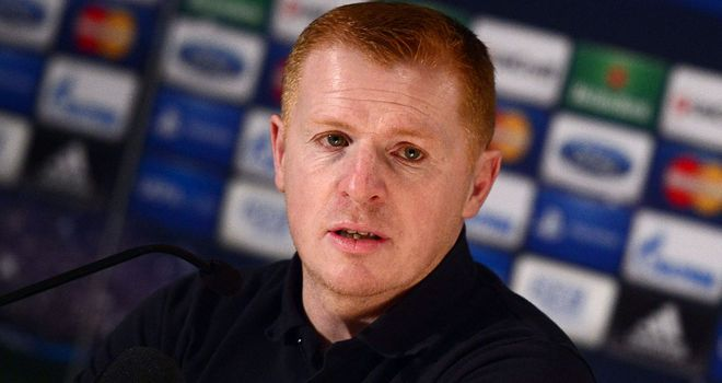 "Neil Lennon: Has urged his players to restore ""respectability"" to their Champions League tie"