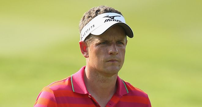 Luke Donald: Struggled to recover from poor start