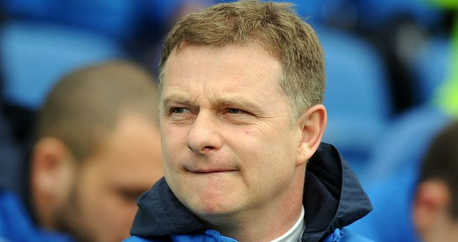Mark Robins: Frustrated by his side's capitulation at Brighton