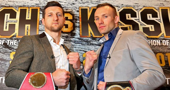 Carl Froch (left) wants revenge over Mikkel Kessler