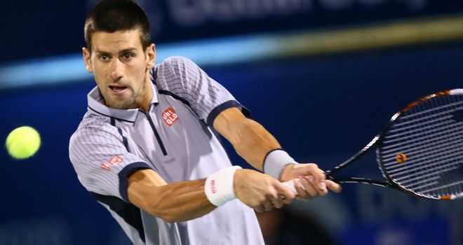 Novak Djokovic: Tough to oppose in Indian Wells