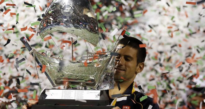 "Novak Djokovic: ""It was never going to be an easy final,"" admitted the World No 1"