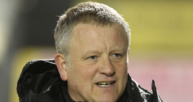 Chris Wilder: A happy man