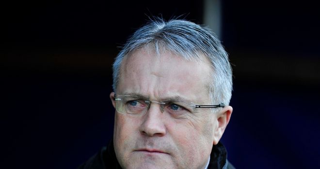 Micky Adams: Gets behind Valiants