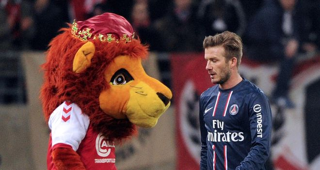 David Beckham's PSG fell to a 1-0 defeat
