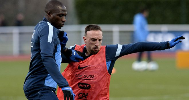 Rod Fanni: Battles with Ribery in training