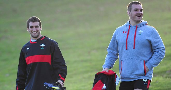 Sam Warburton: Has backed the decision to hand Gethin Jenkins the captaincy against England