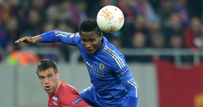 John Obi Mikel: Eager to avoid Europa League football in 2013/14