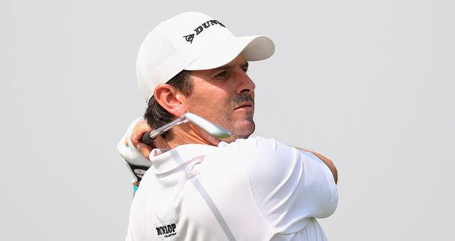 Thomas Aiken: Fired ten-under-par 62 to open three-shot lead in India